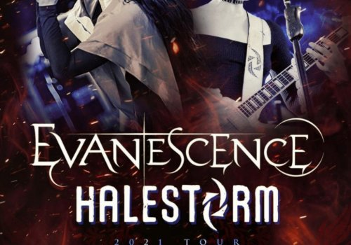 Evanescence & Halestorm are Teaming up to tour the U.S. this fall and there is an Ohio date!