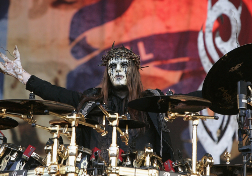 R.I.P. # 1...Joey Jordison...founding member and drummer of Slipknot, has died at the age of 46.... :( (SLIPKNOT Tribute Video added)