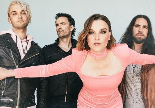 UPDATE: Halestorm - Back From The Dead (Official Video) throat punch \m/\m/