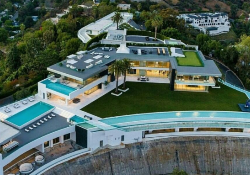 This Half Billion Dollar Bel Air Home is in Receivership. Let's take a tour