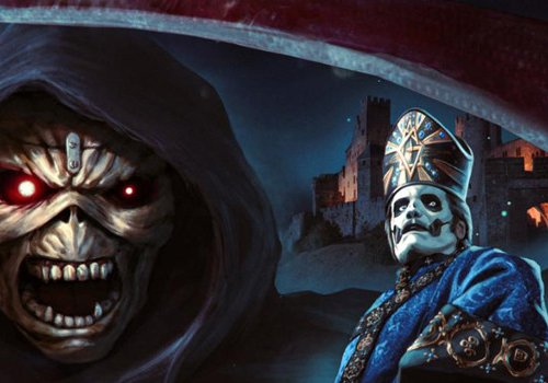 Iron Maiden's 'Legacy Of The Beast' Video Game features Ghost's Papa Emeritus IV